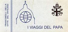 """"""" VATICANO* I FRANCOBOLLI DELLA CITTA' DEL VATICANO : I VIAGGI DEL PAPA 1984 * """""""