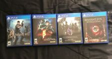 Resident Evil 4 5 6 Revelations 2 for Sony Playstation 4 PS4 - EXCELLENT!