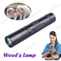 Cat Dog Skin Disease Mites Detector Wooden's Lamp Light