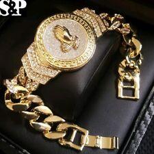 Hip Hop 14K Gold Plated 8.5