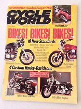 Cycle World Magazine BMW K75 Harley Sportster July 1990 030517NONRH