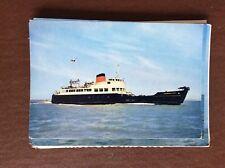 ca7 postcard unused ship m v carisbrooke castle