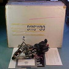 FRANKLIN MINT HARLEY DAVIDSON 1989 HERITAGE SOFTAIL CLASSIC BURG/CREAM 1/10 MIB