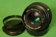 PENTAX SMC Pentax M 50mm f/1.7 lens Fast Sharp Full Frame Excellent condition