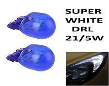 2x W21/5 T20 580 * Libre De Errores DRL LUZ LATERAL 7443 Super Blanco HID Xenon Look Bombillas