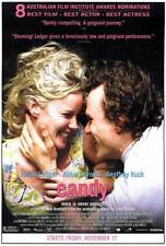 CANDY Movie POSTER 27x40 D Abbie Cornish Heath Ledger Geoffrey Rush Tom Budge