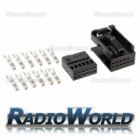 Quadlock Connector Terminal Block Socket Connector Repair Kit Set Black 12 Pin