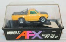 1973 Aurora AFX Model Motoring DATSUN 1600 BAJA PICK-UP Race Truck 1745 Slot Car