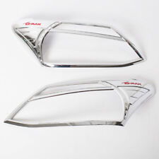 Chrome Cover Headlight Trims Fit Isuzu D-Max Pickup 2012 Thai product