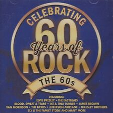 PRICE DROP! [BRAND NEW] CD: CELEBRATING 60 YEARS OF ROCK: THE 60S: VARIOUS