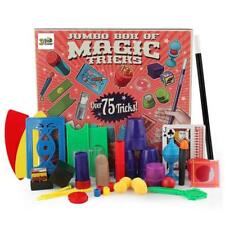 75 Magic Tricks Kit Set Kids Toy Wand for Beginners - Boy Girl Gift - 6+ wand
