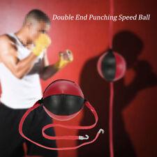 Doble Extremo Bola de boxeo Bóxer Suelo a techo Punch BOLSA para Combat