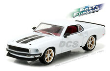 GREENLIGHT FAST & FURIOUS 1969 FORD MUSTANG CUSTOM ANVIL HALO 1/43 CAR 86236