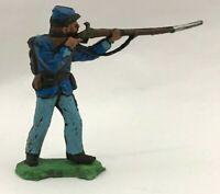 XILOPLASTO Soldatini Confederato Sudista Nordista landi 1:32 toy soldier gomma