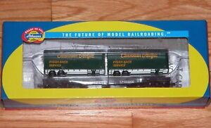 ATHEARN 96365 50' FLAT CAR WITH TWO 25' TRAILERS CANADIAN PACIFIC CP 503206