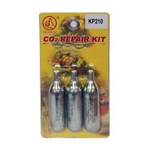 Kit 3 botellas de CO2 reparación pinchazos
