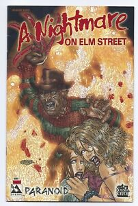 Avatar Comics Nightmare On Elm Street #1 Blood Red Foil Variant Cover Paranoid