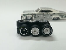 Hot Wheels 1/64 Rubber Wheels Real Riders > Low Riders > Chrome > 10mm > 3 sets