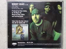 Suicidal Tendencies – Nobody Hears ESK 4645 RARE 1-Track Promo CD