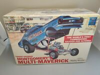 "MPC ""Ohio"" George Montgomery's Multi-Maverick race car model kit."