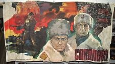 "Soviet portrait, poster, banner, canvas Feature film ""Sokolovo""."