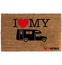 REIMO 'I Love My Motorhome' Door Mat for Camper Motorhome Caravan FREE P&P