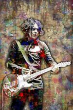 Jack White Poster Jack White of The White Stripes Poster Print 12x18in Free Ship