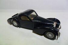 SOLIDO 1:43 DIE CAST AUTO BUGATTI 57S ATLANTE 1939 NERO BLACK USATO  ART 88