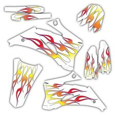 2009 2010 2011 2012 HONDA CRF 450R GRAPHICS KIT CRF450R 450 R DECALS FLAME