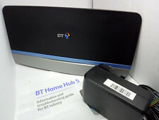 BT Home Hub 5 Type B ADSL VDSL Fibre Dual Band Wireless Gigabit Router Plusnet