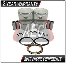 Piston & Ring Kit Fits Nissan Altima Xterra Frontier 2.4 L  KA24DE DOHC  #PR073