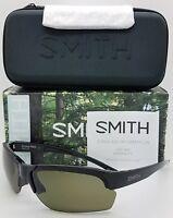 NEW Smith Envoy Max sunglasses Black Grey Green ChromaPop Polarized $189 m frame