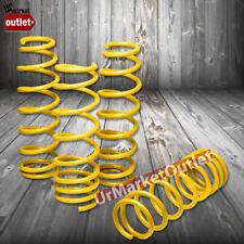 """Yellow 1"""" Drop Suspension Coil Lowering Spring Kit For Honda 00-09 S2000 AP1 AP2"""