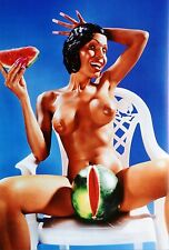 David Lachapelle Limited Edition Photo 35x50cm Amanda Lepore Nude, Faye Dunaway