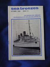 SEA BREEZES Magazine vol. 42 no. 274 October 1968