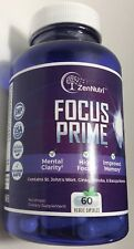 High Focus Memory Mental Clarity Mood Support Brain Booster Supplement Concentr