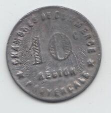 WWI France Monnaie de necessite jeton token Region Provencale 10 Centimes 74