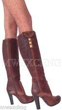 $675.00 FABI MARE FASHION BOOTS WOMENS SHOES EU SIZE 38 DISTRESSED