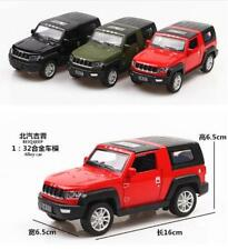 1/32 Scale Diecast Black Jeep SUV Vehicle Car Model Toy W Sound&Light