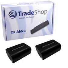 2x AKKU f. SONY HDR-SR10 HDR-SR10E HDR-SR-10E HDR-SR-10