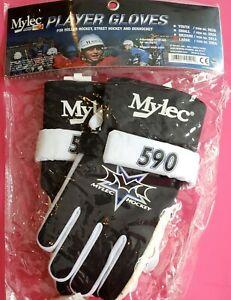 Mylec Hockey Player Gloves Ball Hockey Street Hockey 590A Large