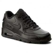 the best attitude 2e981 6df36 Nike Air Max 90 Ltr GS Big Kids 833412-001 Black Running Athletic Shoes