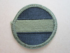 US Army Forces Command FORSCOM Subdued US Military Woven Cloth Patch Badge