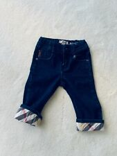 Burberry jeans baby 12 m
