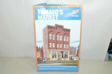 HO scale building structure KIT Walthers Background Building Tomaso's Market