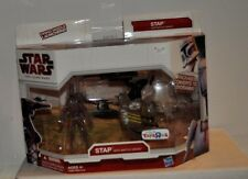 Star Wars Clone Wars  Stap with Battle Droid. Toys-R-Us Exclusive