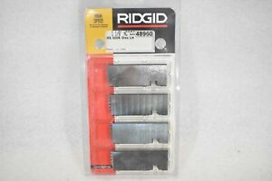 "RIDGID 48960 1-1/8"" NC HIGH SPEED 500B LEFT HAND BOLT DIES, 532, 542 AND 500B"