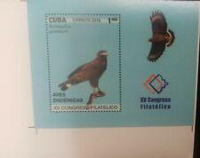O) 2018 Imperforated -Xv Philatelic Congress, Endemic Bird -In Danger Of Extinct