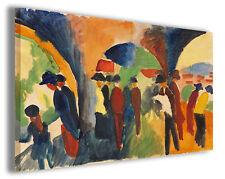 Quadro moderno August Macke vol XIV stampa su tela canvas pittori famosi
