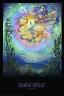 Silken Spells by Josephine Wall Fantasy Art Poster 24x36 inch